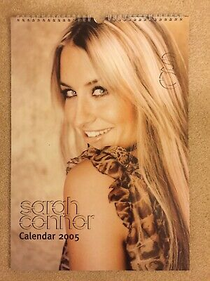 Uber Rare, Sarah Connor Pop Superstar Brand New 2005 Calendar. Gorgeous Pictures • 15£