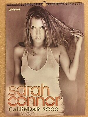 Uber Rare, Sarah Connor Pop Superstar Brand New 2003 Calendar, Gorgeous Pictures • 15£