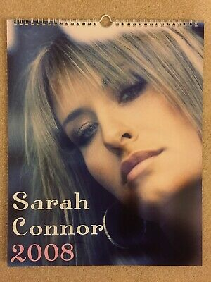 Uber Rare, Sarah Connor Pop Superstar Brand New 2008 Calendar, Gorgeous Pictures • 15£