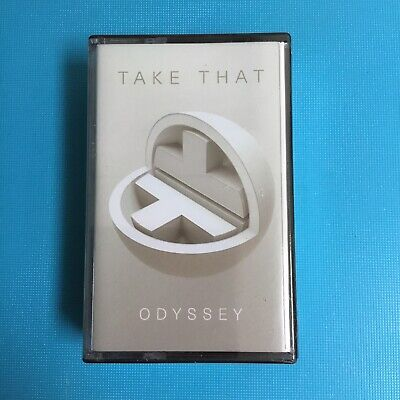 TAKE THAT - Odyssey - 2018 RARE Double Cassette Album *New Sealed* • 5.95£