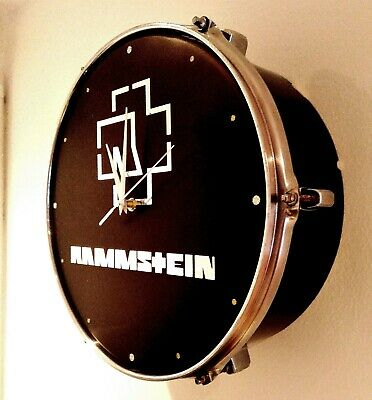 Rammstein Upcycled Drum Clock ### • 65£