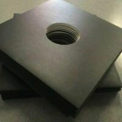 3mm Spined 12'' Black Record Sleeves - Pack Of 10 - Free Delivery  • 11.99£