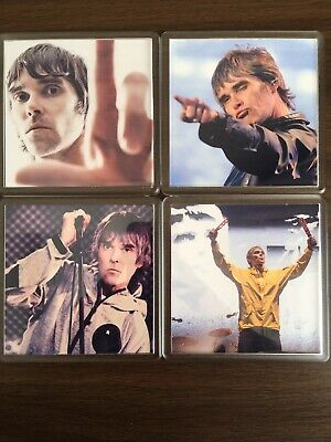 The Stone Roses Ian Brown 4 Piece Coaster Gift Set • 9.99£