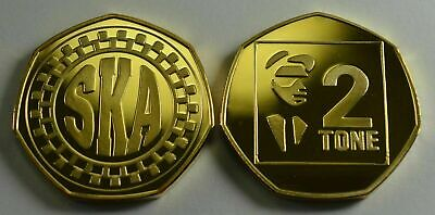 SKA.TWO TONE. 50P COIN COLLECTORS. MUSIC MOVEMENTS. JAMAICAN. 1980s. PUNK  • 6.99£