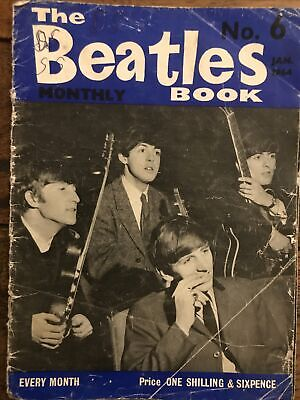 The Beatles Book Monthly No. 6 Jan.  1964 • 1£