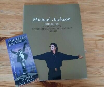 Micheal Jackson This Is It Ticket Memorial Book 16th July 2009. • 14.99£
