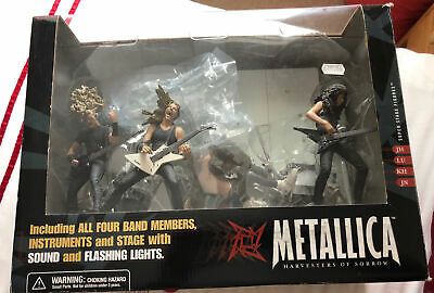 Rare Original Metallica Harvesters Of Sorrow Boxed Stage And Figures Set In Box • 175£