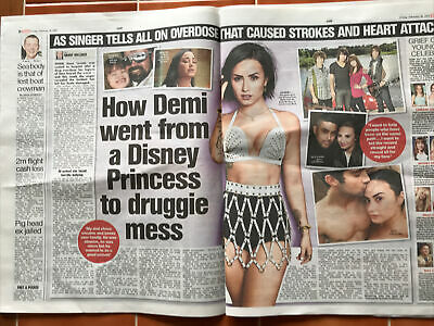 Demi Lovato Cuttings/clippings Uk Newspapers 2021 • 4.99£