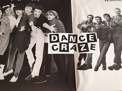 2 Tone DANCE CRAZE Full Size Poster Which Came With Original LP • 15£