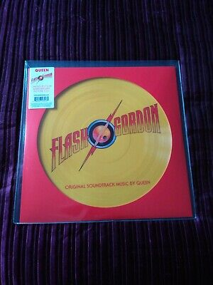 QUEEN FLASH 40th Anniversary Limited Edition Numbered Picture Disc 1980 Copies • 41£