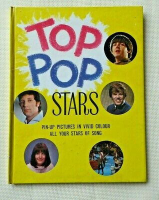 Top Pop Stars, Annual, 1966.  Unclipped. • 9£