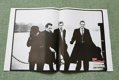 NME Poster Print: The Clash 30cm X 25cm  8 Pages • 2.95£