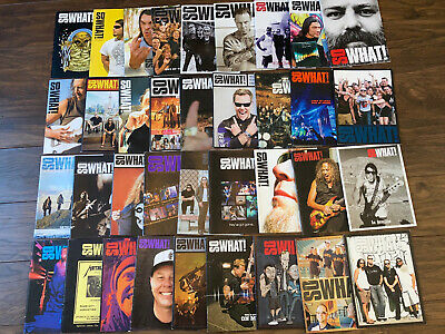 Metallica-SO WHAT Magazines-36 Issues 2007-2015 • 20£