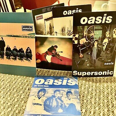 Oasis Limited Edition Creation Promotional Postcards X6 • 15£