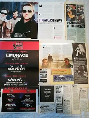Doves UK Press Cuttings Clippings 1990s - 2000s • 1.99£