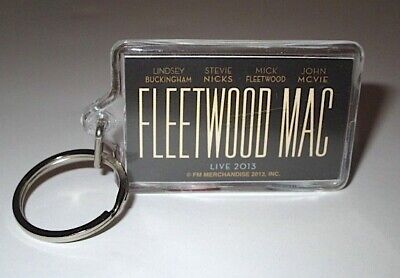 2013 Fleetwood Mac Live Concert On Site Keychain Mick Stevie Nicks Collectible • 14.27£