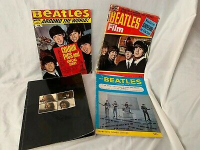 The Beatles - Let It Be Book & Other Original Publications • 30£