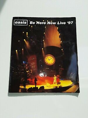Oasis Be Here Now Tour Programme 1997 • 14£