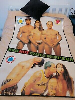 5 Foot 60 X40  Vintage Red Hot Chili Peppers Poster 90s • 17£