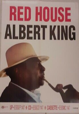 Albert King -  Red House  (Adverising Poster) • 4.99£