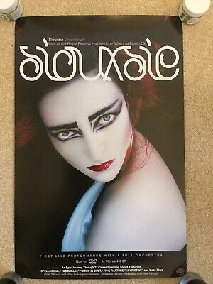 Siouxsie Sioux Dreamshow Royal Festival Hall. Brand New Stunning Vintage Poster. • 10£