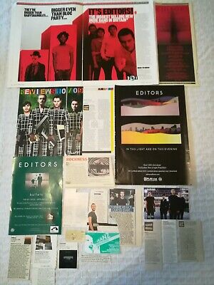 Editors UK Press Cuttings Clippings 2000s-2010s PACKAGE 3 (of 3) • 2.99£