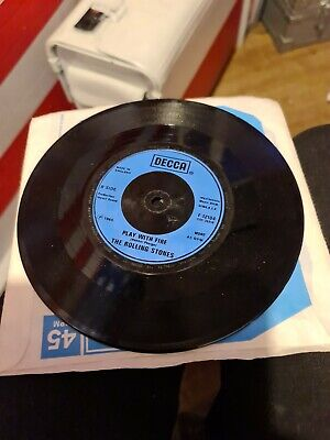 Rare Rolling Stones Play With Fire Single  • 69.60£