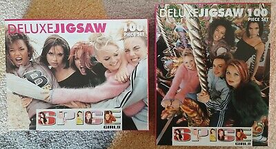 Spice Girls Official Merchandise - 2 X 100 Piece Jigsaws Brand New And Sealed  • 25£