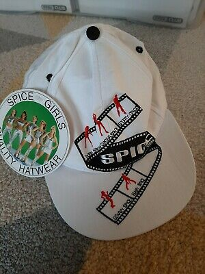 Spice Girls Official Merchandise Baseball Cap - BNWT - Vintage Retro - Size 57cm • 25£