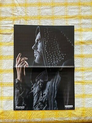 BEHEMOTH MOTIONLESS IN WHITE Double Sided Poster A3 Size Metal Hammer • 1.50£