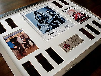 The Who Kids Are Alright Signed Stunning Framed 35mm Film Cell Montage • 89.99£