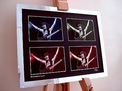 Angus Young Ac/dc Ltd Edition Signed Pop Art Canvas • 29.99£