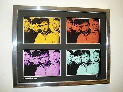 Blur Ltd Edition Signed Pop Art Canvas  • 24.99£