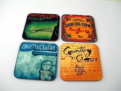 Counting Crows Album Cover COASTER Set • 8.99£