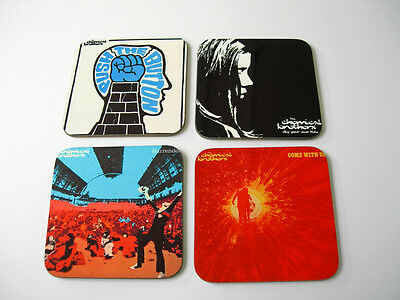 The Chemical Brothers Album Cover COASTER Set • 8.99£