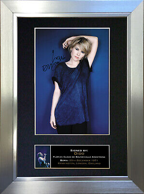 DIDO Signed Autograph Mounted Photo Quality Reproduction A4 Print 324 • 6.99£
