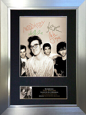 THE SMITHS Signed Autograph Mounted Photo Reproduction A4 Print 115 • 18.99£