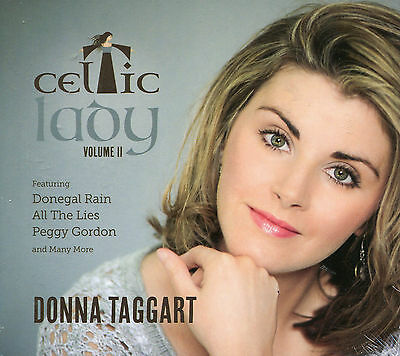 Donna Taggart Celtic Lady CD Vol 2 Bonus Track Edition & JEALOUS OF THE ANGELS • 9.98£