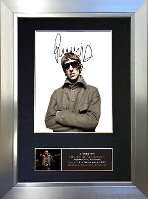 RICHARD ASHCROFT The Verve Signed Autograph Mounted Photo Repro A4 Print 657 • 18.99£