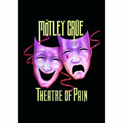 Motley Crue Theatre Of Pain Postcard Standard Band Music Official • 1.95£