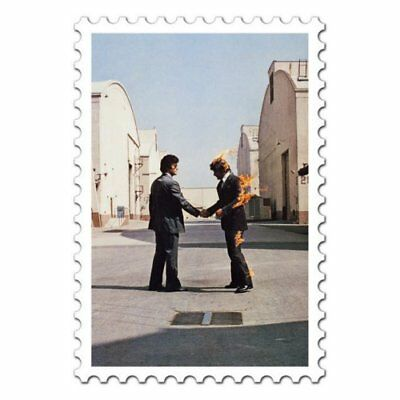 Pink Floyd Wish You Were Here Postcard Standard Music Band Official • 2.49£
