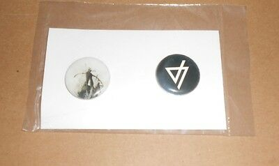 Linkin Park 2014 Promo Buttons – Set Of 2 The Hunting Party • 10.12£