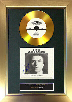 GOLD DISC LIAM GALLAGHER As You Were Signed Autograph Mounted Print A4 156 • 20.99£
