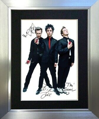 #47 GREEN DAY Billie Joe A5 Signed Reproduction Autograph Mounted Print • 16.99£