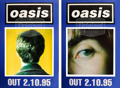 Original Oasis Poster Set - Whats The Story? (Noel & Liam) • 49.99£