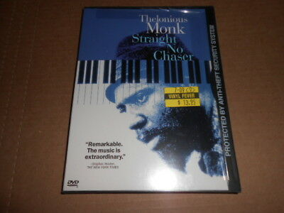 Thelonius Monk, Straight No Chaser FACTORY SEALED Rare DVD OOP • 78.71£