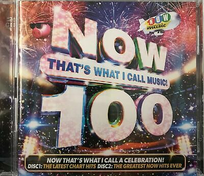 Now That's What I Call Music! 100 - Various Artists [2xCD] New Sealed Free UKP&P • 3.39£