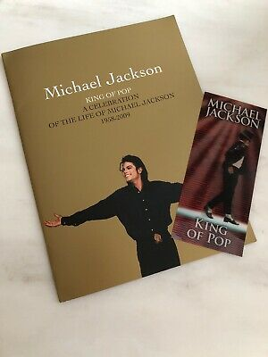 Michael Jackson King Of Pop 'this Is It' Hologram Concert Ticket And Programme. • 215£