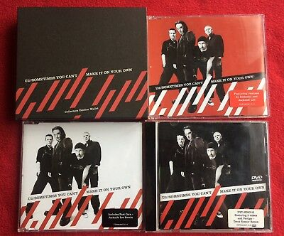 U2 Sometimes You Can't.... Promo WALLET Collector's Edition + CDs • 49.99£
