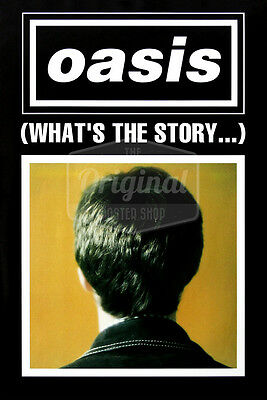 Original Oasis Poster - Whats The Story? (Noel Gallagher) • 29.99£